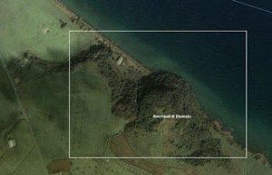 Vista satellitare del monte Bisenzio