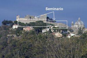 Vista del Seminario Antonio Barbarigo di Montefiascone