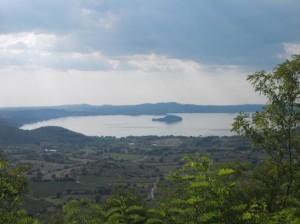 Lago visto da Montefiascone